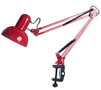 Лампа настольная ученическая офисная Красный 90х40 см