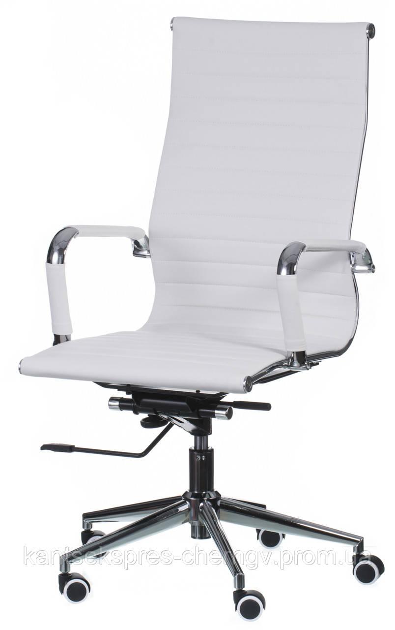 Кресло офисное Solano artlеathеr, Special4You Белый