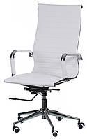 Крісло офісне Solano artlеathеr, Special4You Білий
