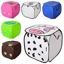 Кошик для іграшок Тварина 45*45 см різні кольори