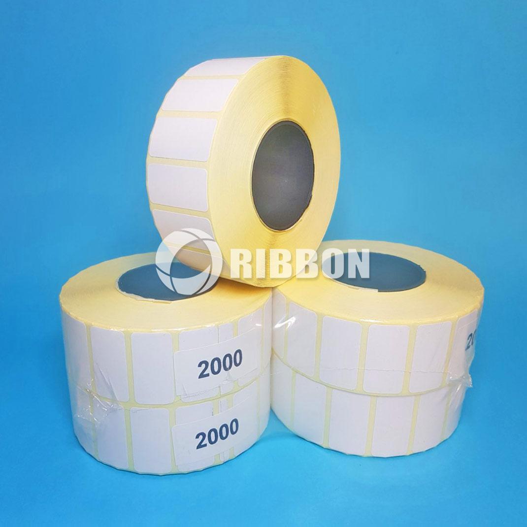 Термоетикетка ЕКО 30х20 eco (2000шт.) вт.25 - Ціна за рулон