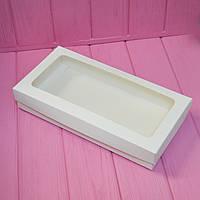 Коробка 30х15х5 см. (с окошком белая), фото 1