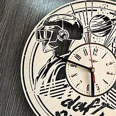 Концептуальные настенные часы в интерьер «Daft Punk», фото 3