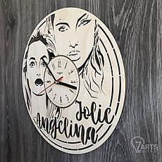 Настенные часы с Анджелиной Джоли, фото 2