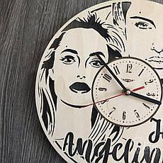 Настенные часы с Анджелиной Джоли, фото 3