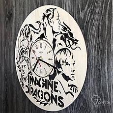 Концептуальные настенные часы в интерьер «Imagine Dragons», фото 2