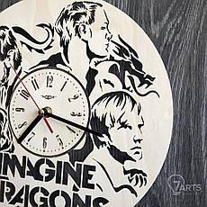 Концептуальные настенные часы в интерьер «Imagine Dragons», фото 3