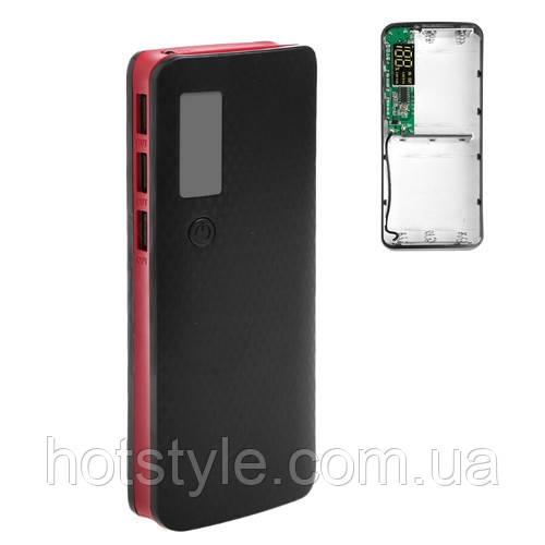 Корпус для Power Bank, внешнего аккумулятора, бокс 5х 18650, 3x USB
