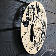 Детские настенные часы из дерева «Aladdin», фото 2