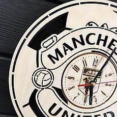 Концептуальные настенные часы в интерьер «Manchester United», фото 3