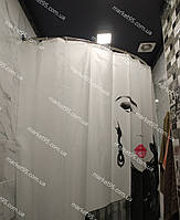 Карниз нержавейка дуга 105*150 для шторы (ванная, душ), фото 1