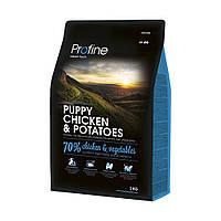 Корм для щенков PROFINE PUPPY CHICKEN & POTATOES 3кг