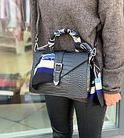 Итальянская кожаная сумка Crossbody Люкс натуральная кожа