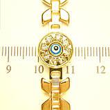Шикарный браслет Xuping позолота, фото 2