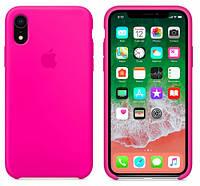 Силиконовый Чехол накладка xCase на iPhone XR Silicone Case Barbie Pink ( чехол айфон XR Розовый )