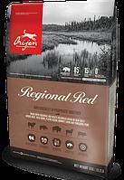 Сухий корм Orijen Regional Red Dog 11.4 кг + Повідець-контролер в подарунок