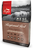 Сухой корм Orijen Regional Red Dog 11.4кг + Поводок-контроллер в подарок