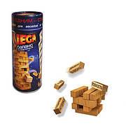 """Настольная игра """"Дженга"""" классические деревянные кубики Danko Toys Игра """"Vega"""" 0042"""