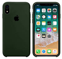 Силиконовый Чехол накладка xCase на iPhone XR Silicone Case Virid ( чехол айфон XR )
