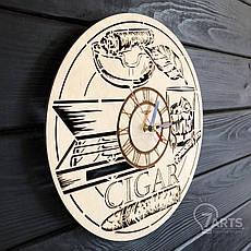 Тематические интерьерные настенные часы «Сигары», фото 2