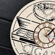 Тематические интерьерные настенные часы «Сигары», фото 3