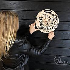 Часы настенные из дерева «11.22.63», фото 3