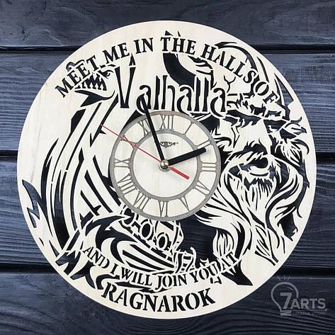 Тематические интерьерные настенные часы «Vikings», фото 2