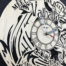 Тематические интерьерные настенные часы «Vikings», фото 3