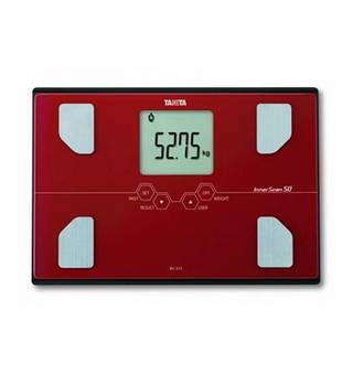 Весы-анализатор Tanita BC-313 красный