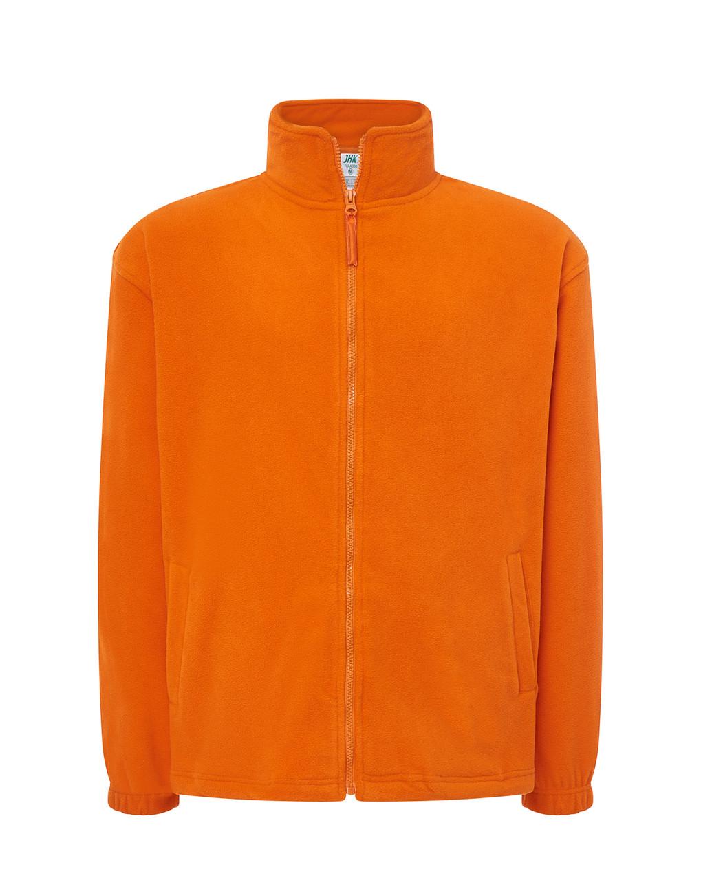 Мужская флисовая кофта JHK POLAR FLEECE MAN цвет оранжевый (OR) L