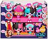 Pop Pop Hair Surprise Ігровий набір Модна Зачіска з аксесуарами ( Поп Поп Хеир Модная причёска с расчёской ), фото 4