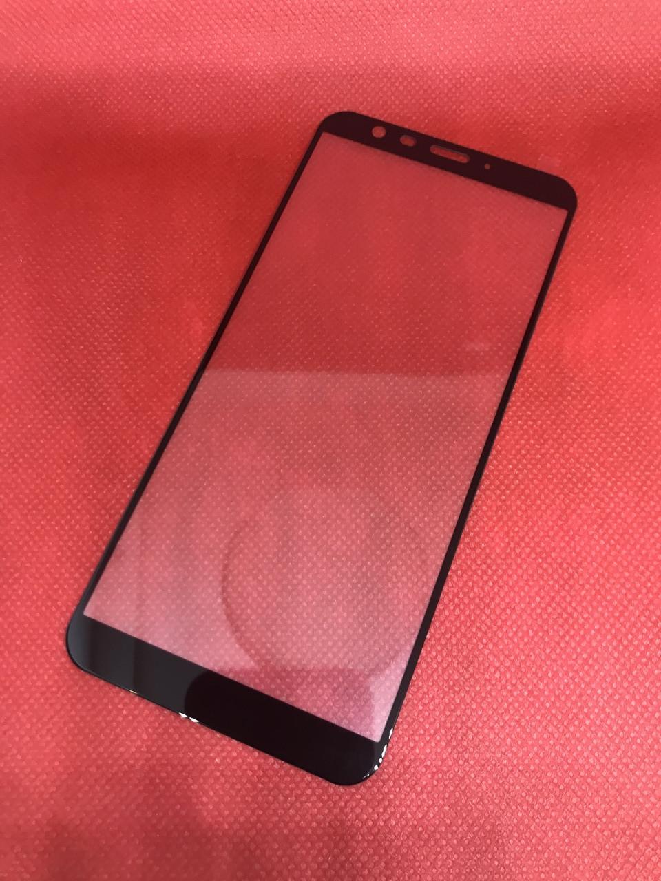 Meizu M8C защитное 2,5D 3D стекло Full Cover (черная окантовка) полное покрытие