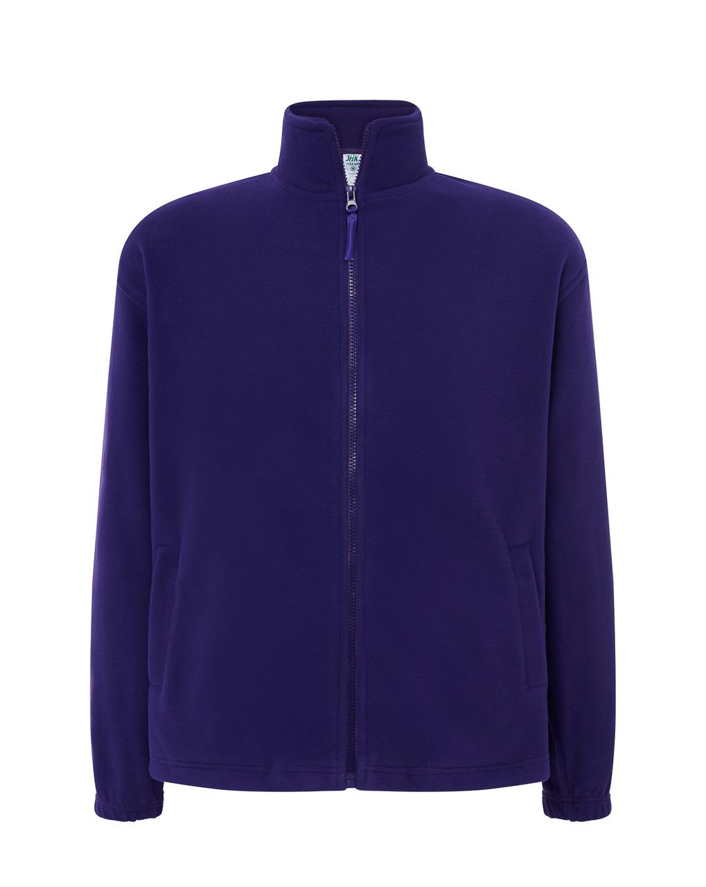 Мужская флисовая кофта JHK POLAR FLEECE MAN цвет фиолетовый (PU)