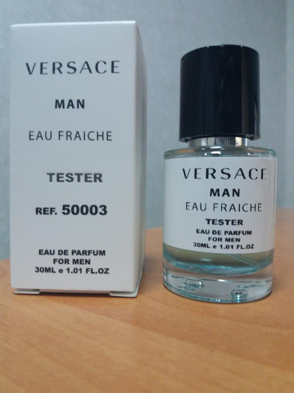 Мужская парфюмерия Versace Man Eau Fraiche (версаче фрэш мэн) тестер 30 ml ОАЭ (реплика)