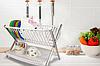 Подставка для тарелок Folding Rack kitchen. Подставка под тарелки, подставка на кухню. Сушилка для посуды, фото 2