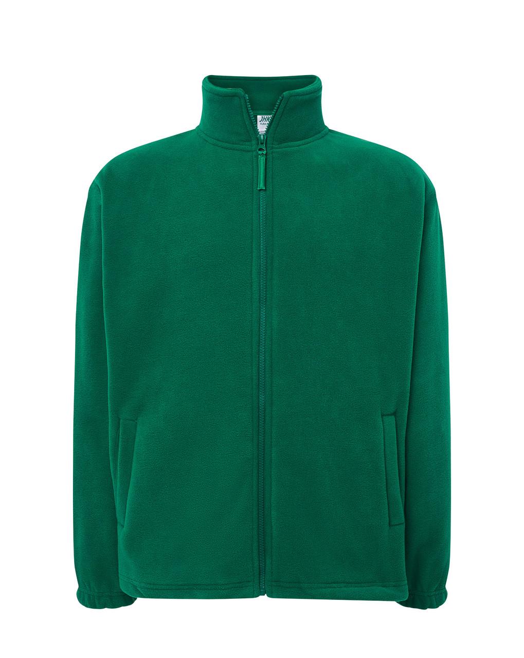 Мужская флисовая кофта JHK POLAR FLEECE MAN цвет зеленый (KG) XXL