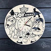 Дизайнерские детские настенные часы «История игрушек»