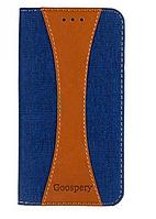 Чехол книжка Goospery серия Canvas для Xiaomi Redmi Note 3
