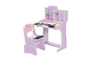 Парта Bambi B 2071-39-3 со стульчиком - детская мебель