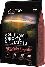 Корм для дорослих собак дрібних порід PROFINE ADULT SMALL BREED CHICKEN & POTATOES 2кг