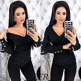 Модная женская нарядная кофточка,размеры:42-44,46-48,50-52., фото 4