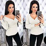 Модная женская нарядная кофточка,размеры:42-44,46-48,50-52., фото 5