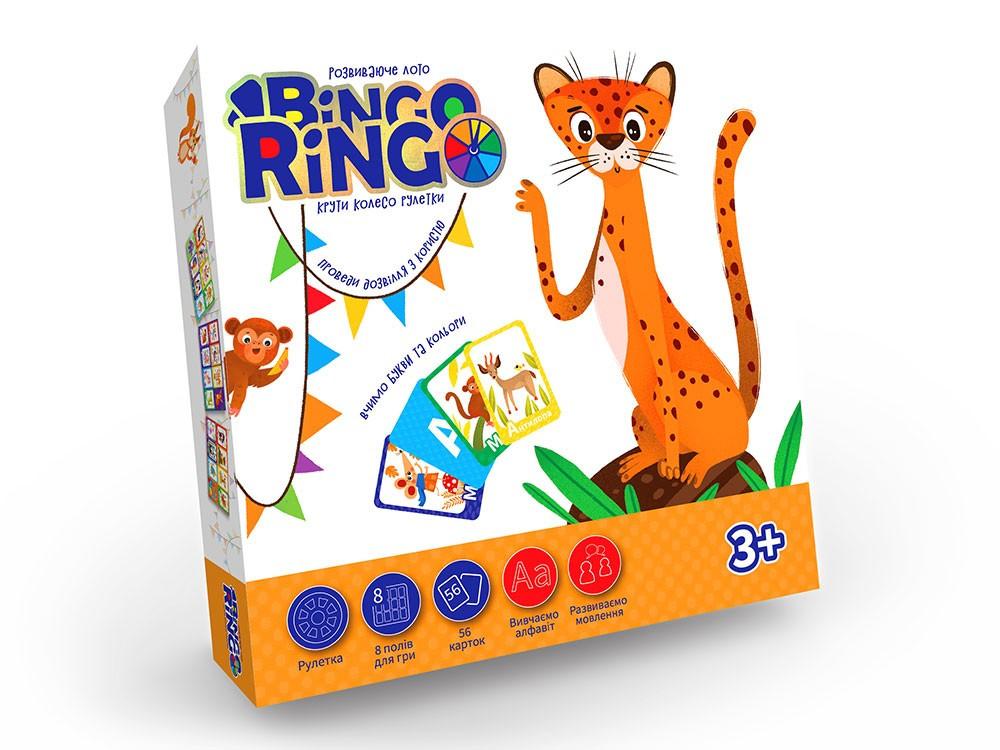 Детское домино Bingo Ringo GBR-01, Игра