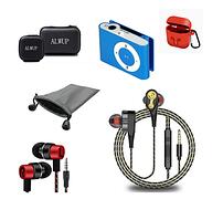 Наушники проводные / MP3 плееры / Чехлы для наушников и аксессуаров