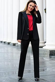 Черный деловой костюм Линкольн