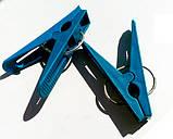 Прищіпки пластикові кольорові, 100 шт/уп., фото 3