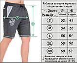 Мужские шорты «CLASSIC» антрацит, фото 6
