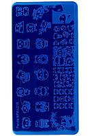 Пластина для стемпинга для нігтів Lilly Beaute — BPX-L015