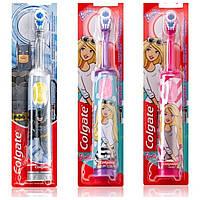 """Электрическая детская зубная щетка на батарейках """"Colgate"""" BatMan, Barbi TP0022"""