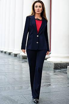 Синий брючный костюм Линкольн